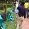 জাহাঙ্গীরনগর বিশ্ববিদ্যালয়ে আন্দোলনরত শিক্ষকদের উপর ছাত্রলীগের হামলা
