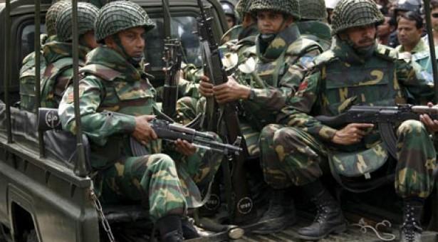 জেলা প্রশাসনকে সহায়তা দিতে ২৪ মার্চ থেকে মাঠে থাকবে সেনাবাহিনী