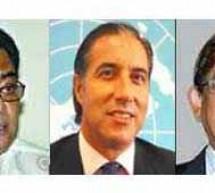 চলমান রাজনৈতিক সংকট সমাধানে সৈয়দ আশরাফ, মির্জা ফখরুল ও তারানকো বৈঠক অনুষ্ঠিত হচ্ছে