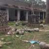 রাজশাহী বিশ্ববিদ্যালয়ে চারুকলা ইন্সটিটিউটে শিক্ষার্থীদের বানানো ভাস্কর্য তছনছ