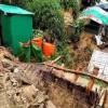 ভারী বর্ষণে রোহিঙ্গা শিবিরে ভূমিধস, শিশু নিহতসহ আহত ৫ শতাধিক