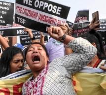 ভারতে বিক্ষোভ বাড়ছে, আটক কয়েকশ